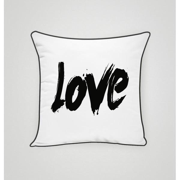 Povlak na polštář Love II, 45x45 cm