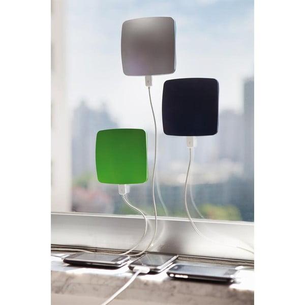 Solární nabíječka na okno, zelená