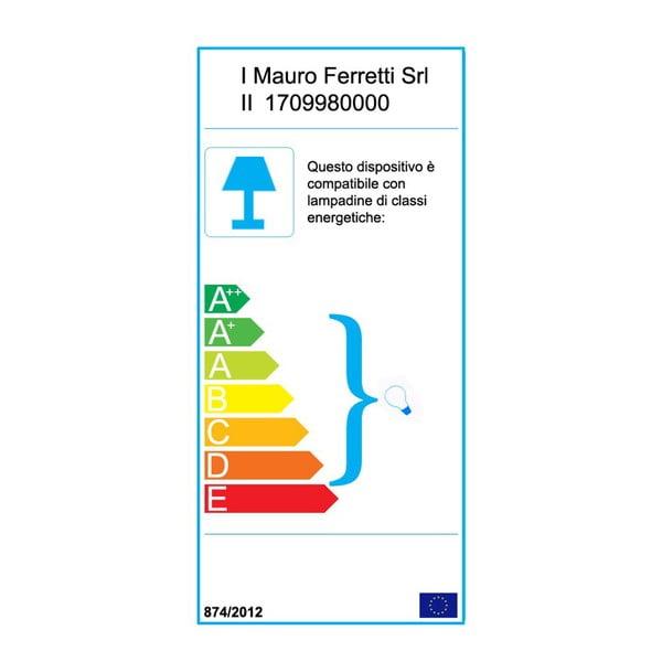Nástěnné industriální svítidlo Mauro Ferretti, 34 cm