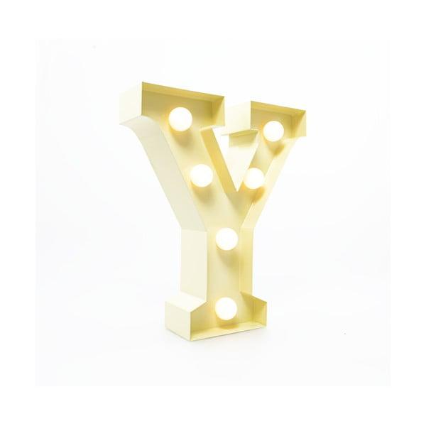 Dekorativní světlo Carnival Y, vanilkové