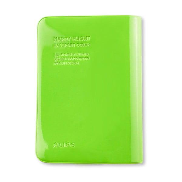 Stylové pouzdro na pas, zelené