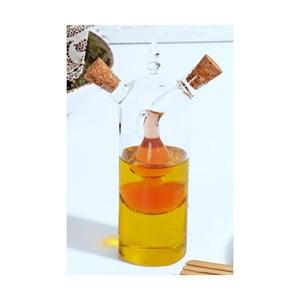 Skleněný dávkovač na olej a ocet Kutahya Double