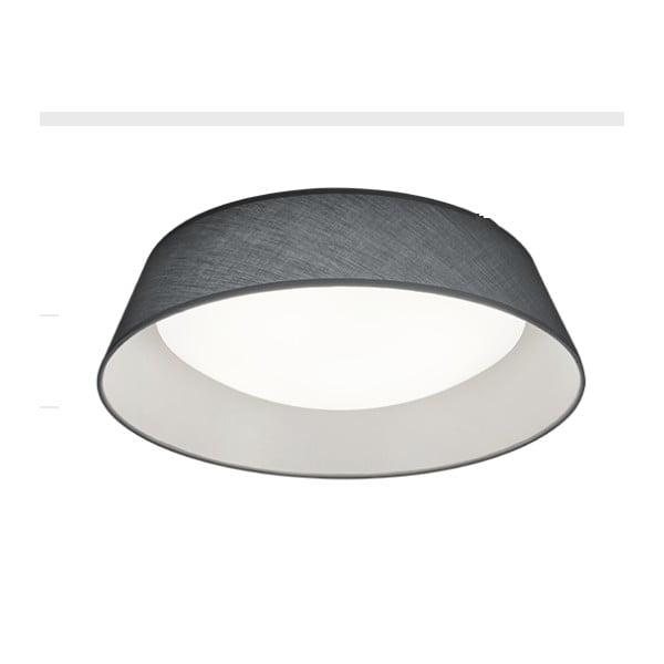 Czarna lampa sufitowa LED Trio Ceiling Lamp Ponts, średnica 45 cm