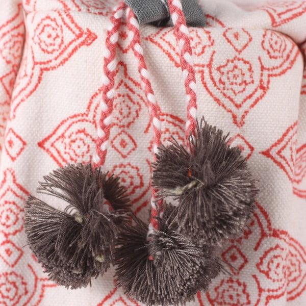 Ručně tištěná toaletní taška Tile Coral