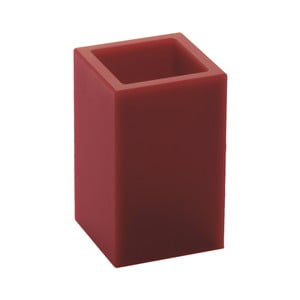 Nerozbitná váza Ivasi Medium, tmavě červená
