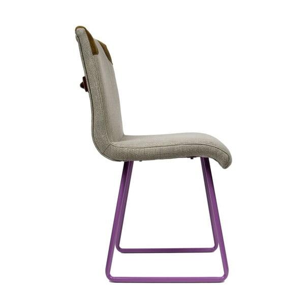 Židle Skids Violet