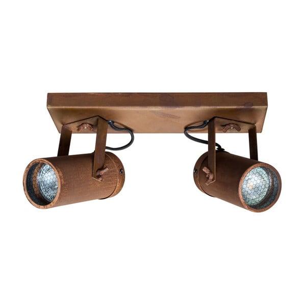 Hnědé nástěnné svítidlo Dutchbone Scope Duo