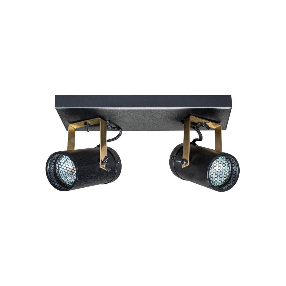 Černé nástěnné svítidlo Dutchbone Scope Duo