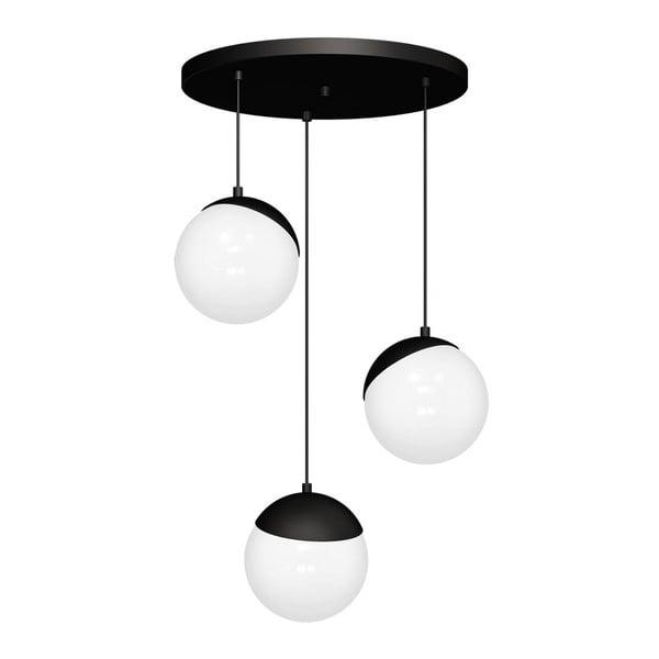 Lustră Sphere Tres, negru