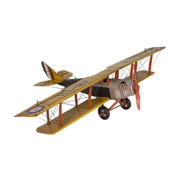 Dekorativní letadlo Antic Line Yellow Plane