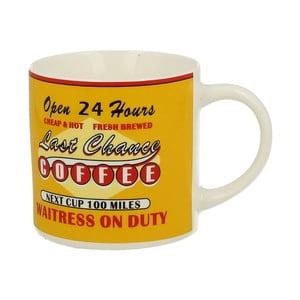 Žlutý porcelánový hrnek Duo Gift Coffee, 430 ml