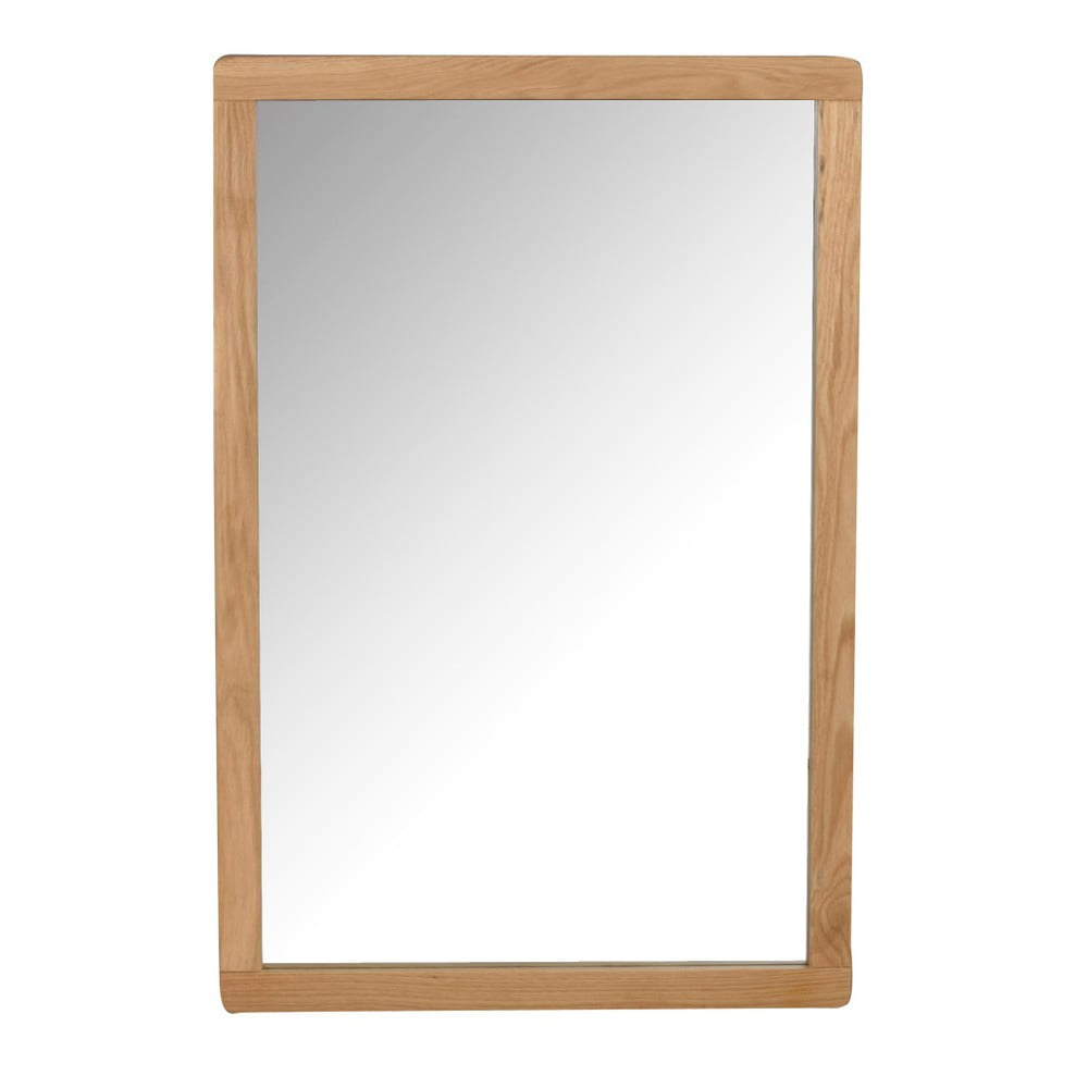 Přírodní dubové zrcadlo Rowico Gorgona