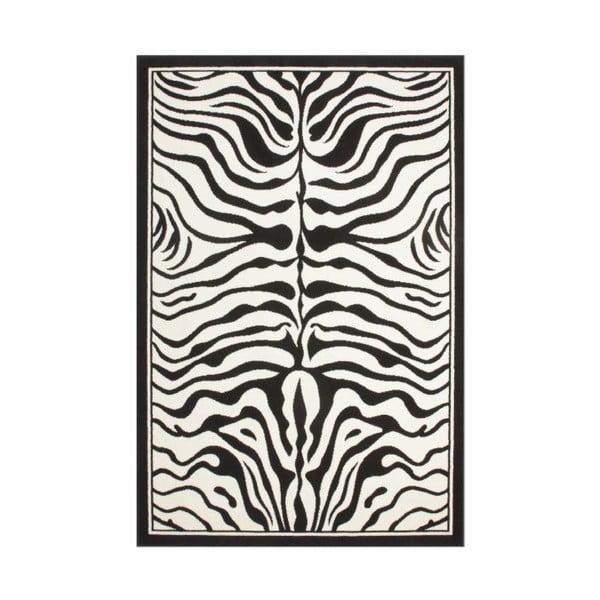 Koberec USA Housten Black/White, 160x230 cm