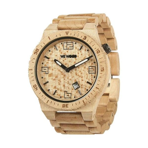 Dřevěné hodinky Voyage Beige