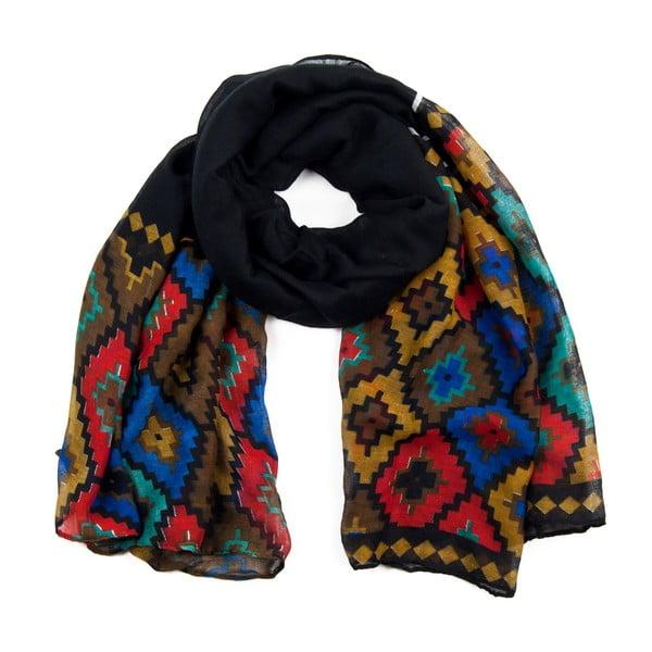 Šátek Aztec Black