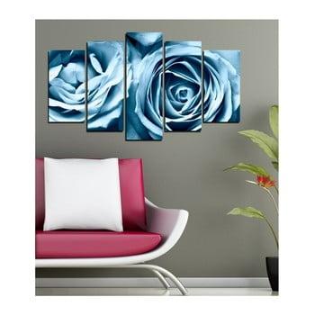 Tablou din mai multe piese 3D Art Azul Zello, 102 x 60 cm de la 3D Art