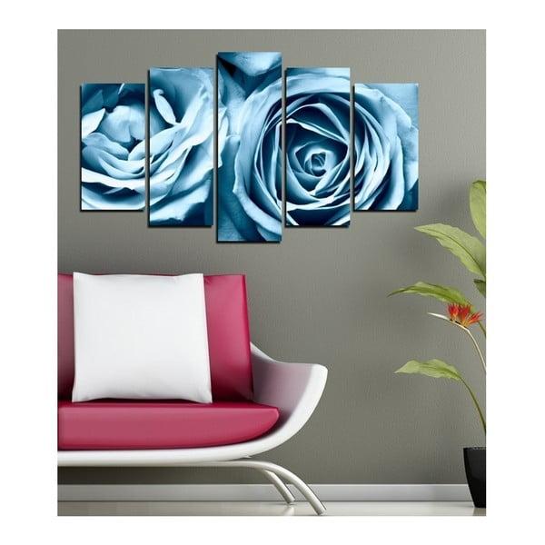 Vícedílný obraz 3D Art Azul Zello, 102x60cm