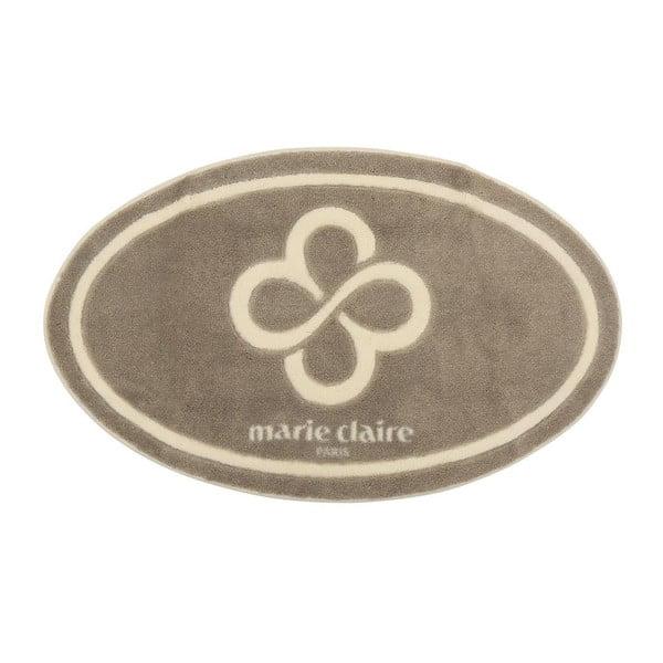 Béžová koupelnová předložka z edice Marie Claire, 66 x 107 cm