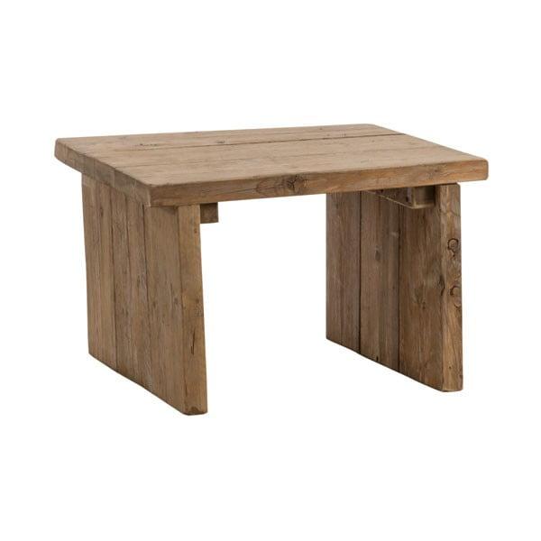 Stolek z recyklovaného dřeva Old Wood, 64x64 cm