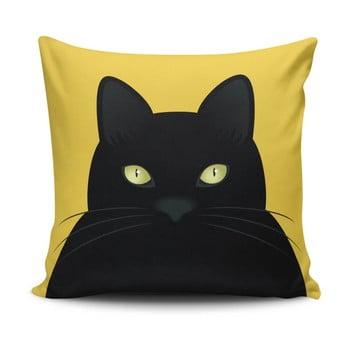Pernă cu adaos de bumbac Cushion Love Cat, 45 x 45 cm imagine