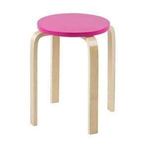 Odkládací stolek Emba, růžový