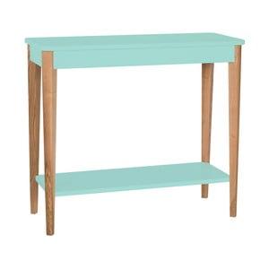 Světle tyrkysový konzolový stolek Ragaba Ashme, šířka85cm
