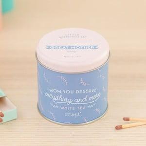 Svíčka s vůní bílého čaje Mr. Wonderful Little moments, 15hodinhoření