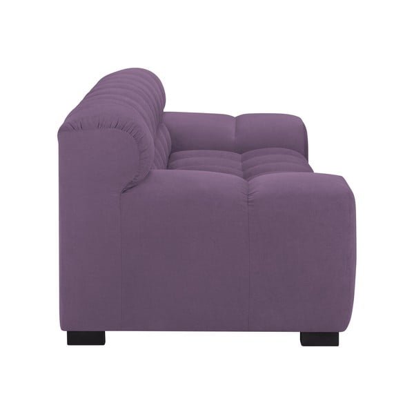 Levadnulově fialová trojmístná pohovka Windsor & Co Sofas Moon