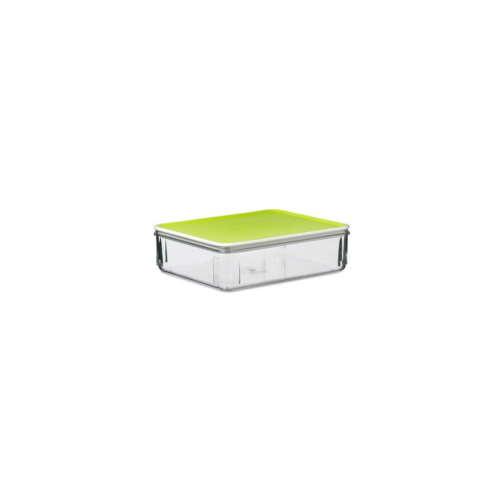 Limetkově zelený svačinový box Rosti Mepal Lime, 850 ml