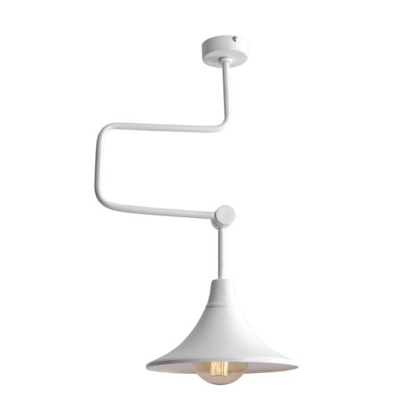 Bílé závěsné světlo Custom Form Miller