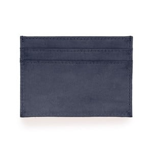 Modré kožené pouzdro na karty a vizitky O My Bag Mark´s