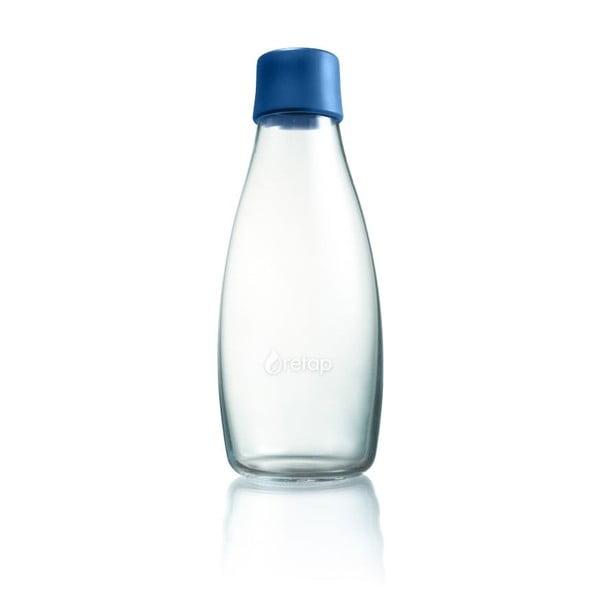 Granatowa butelka ze szkła ReTap z dożywotnią gwarancją, 500 ml