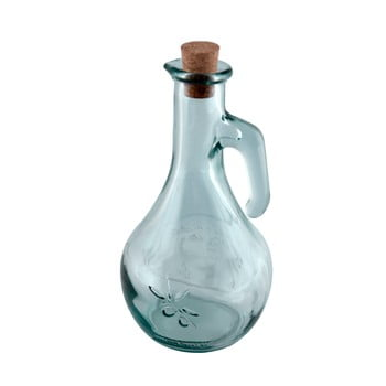 Olivieră din sticlă reciclată Ego Dekor, 500 ml, transparent imagine
