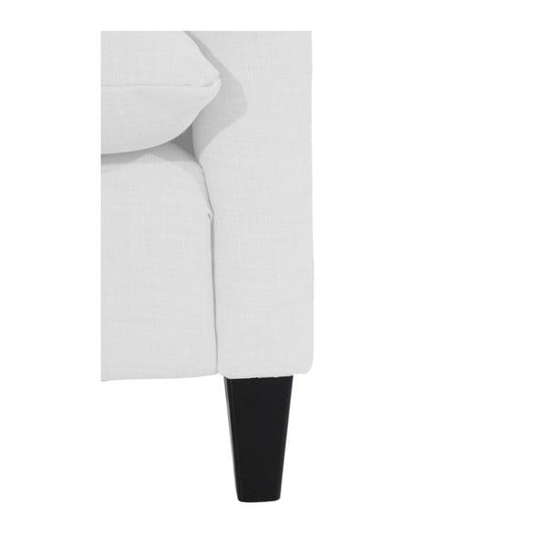 Bílé křeslo ušák Max Winzer Merlon White
