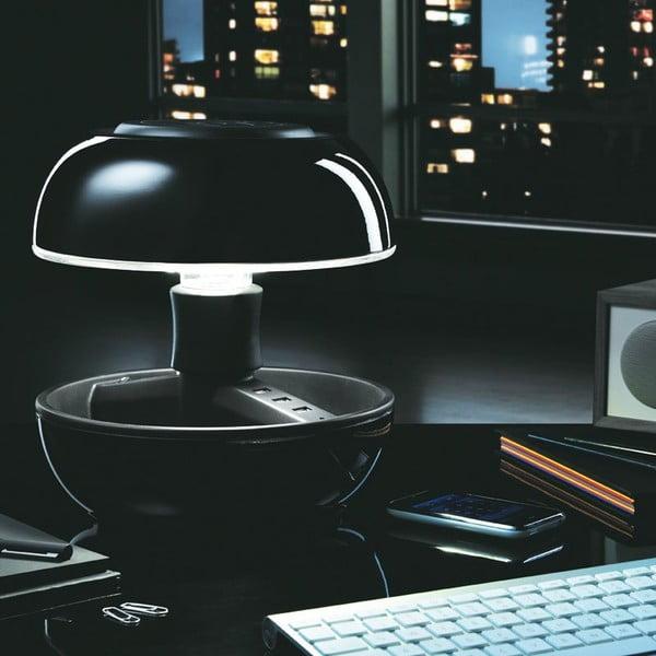 Stolní lampa a nabíječka v jednom Joyo Classic, černá
