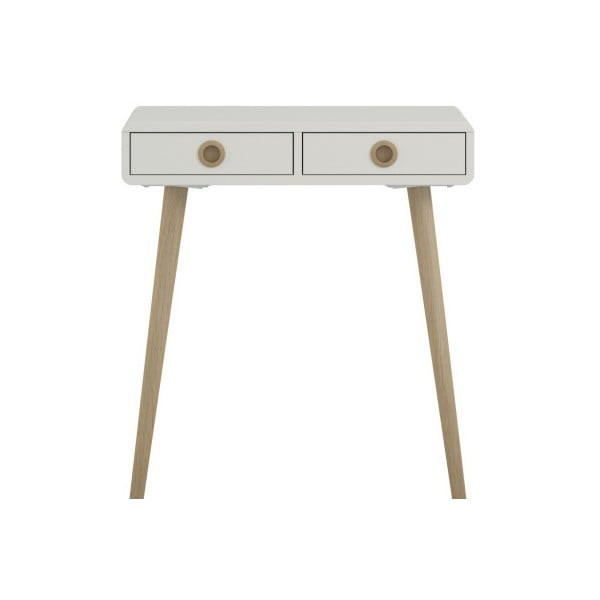 Krémově bílý konzolový stolek Steens Soft Line