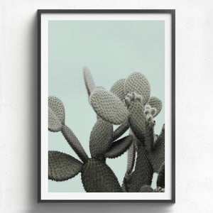 Obraz v dřevěném rámu HF Living Lanzarote, 21 x 30 cm
