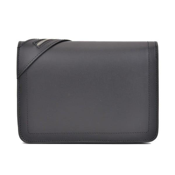 Černá kožená kabelka Sofia Cardoni Mangollo
