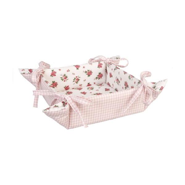 Košík na chleba Clayre, růžový