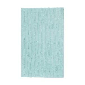 Mentolově zelená koupelnová předložka Aquanova Taro, 60x100cm