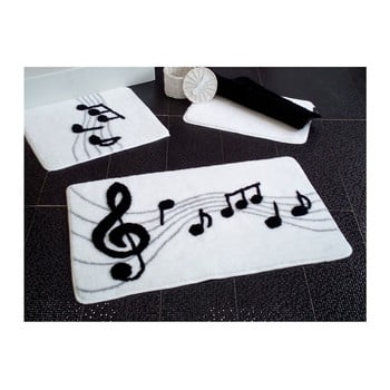 Set 3 covorașe de baie Confetti Bathmats Music