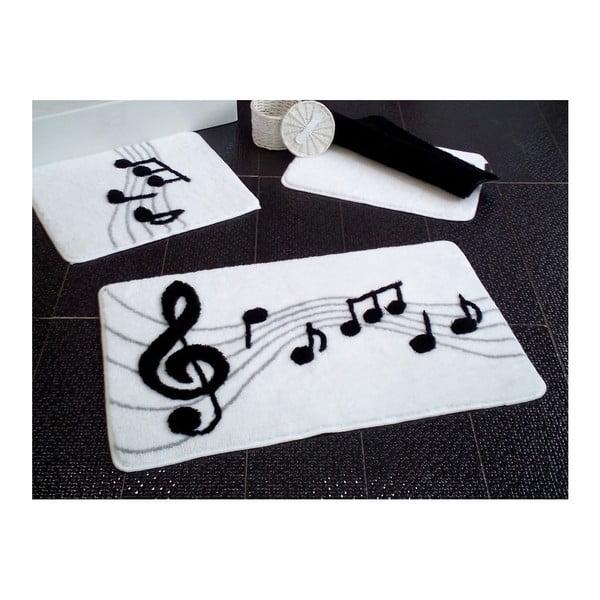 Sada 3 předložek do koupelny Alessia Music