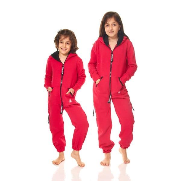 Tmavě růžový dětský domácí overal Streetfly, pro děti 2-3 roky