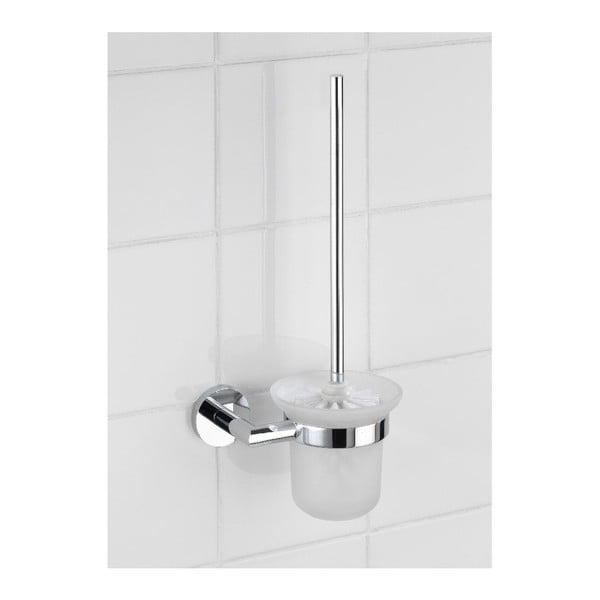 Samodržící stojan s toaletním kartáčem Wenko Power-Loc Revello