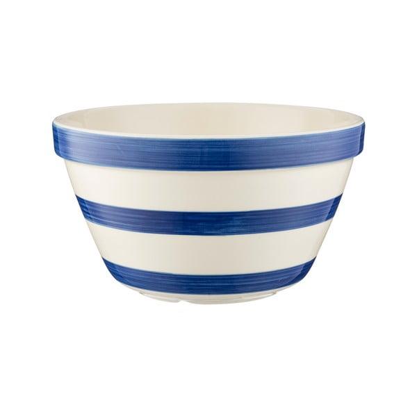 Bol din ceramică pentru budincă Mason Cash Basin, ⌀ 17 cm, albastru - alb