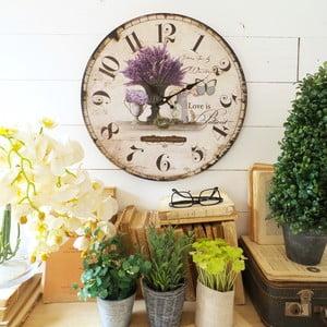 Nástěnné hodiny Milano Lavender
