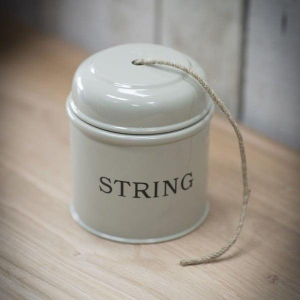 Plechovka na zahradní provázek String Beige