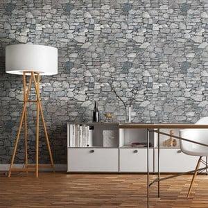 Autocolant Ambiance Auverge Stone, 40 x 40 cm