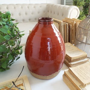 Váza Orchidea Milano Atomic Red, výška28cm