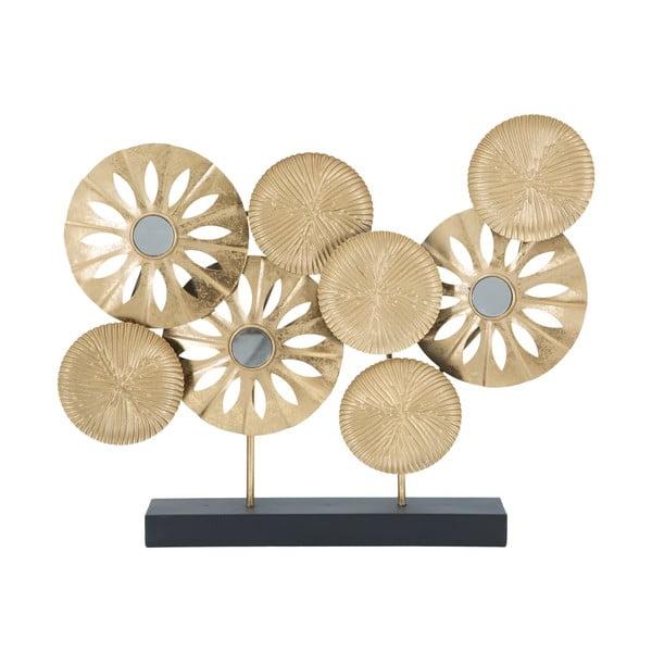 Dekoracja w złotej barwie Mauro Ferretti Daisy, wys. 42 cm